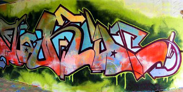 Graffiti rocks!