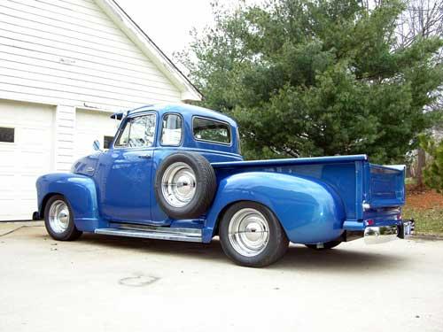 1953 Chevrolet 5-Window Custom Pickup